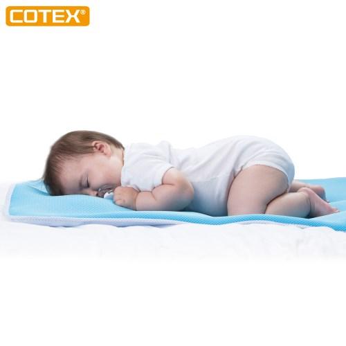 COTEX SIKAER【C-air聰明寶貝嬰兒床墊】 台灣製造 防螨 可機洗 適合99%大小嬰兒床使用