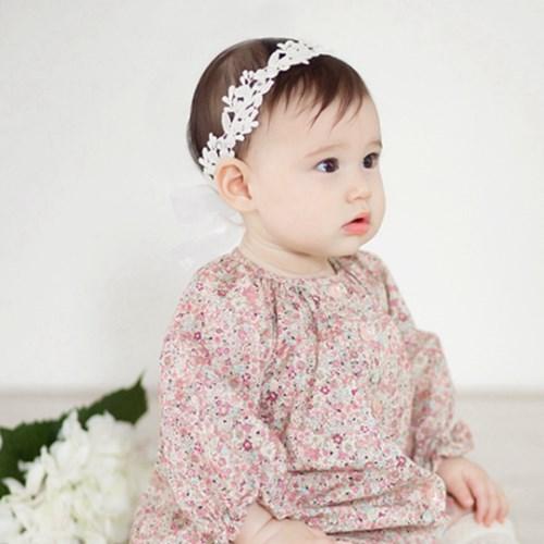 日安朵朵 韓國製Happy Prince小百合蕾絲髮帶