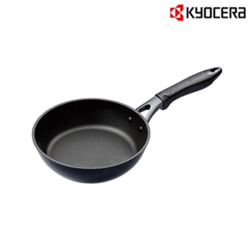 【KYOCERA】日本京瓷CERAFORT系列20CM陶瓷平底鍋